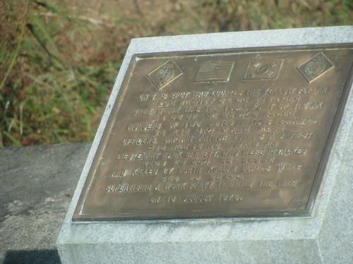 Ax Murder Monument