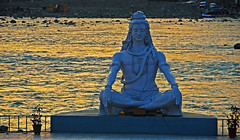 Meditation (amangla007) Tags: india lord shiva 2009 rishikesh uttarakhand