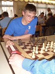 Der spätere U20-Sieger Anton Hannewald