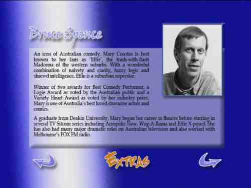 Bruce Spence's Hercules Returns Bio