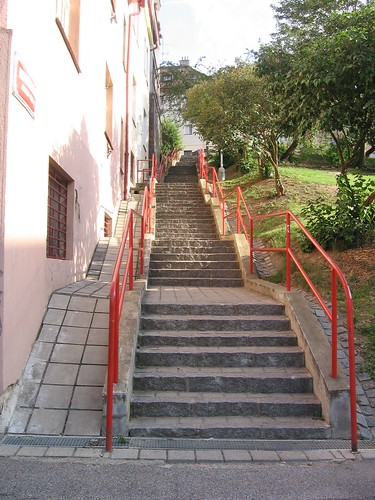 Stairways to the nex street