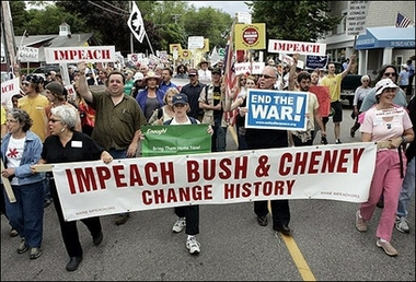 Kennebunkport Protesters Demand Impeachment