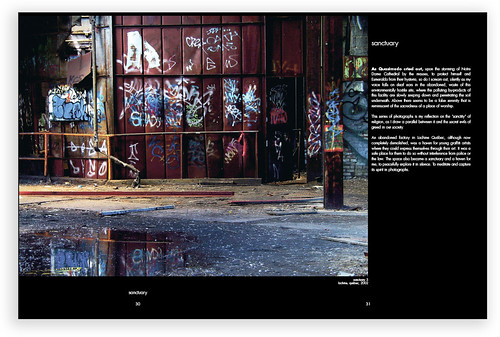 Spread from Majestic & Mundane book - p.30-31
