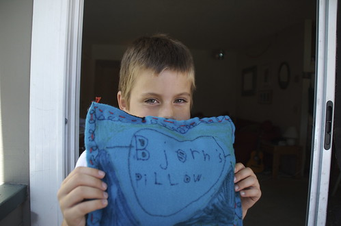 Bjørn's pillow