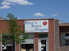 Like it says: Dave's Home Oxygen (Fran 53) Tags: vacation sky storm car clouds south july wyoming dakota deadwood 2007
