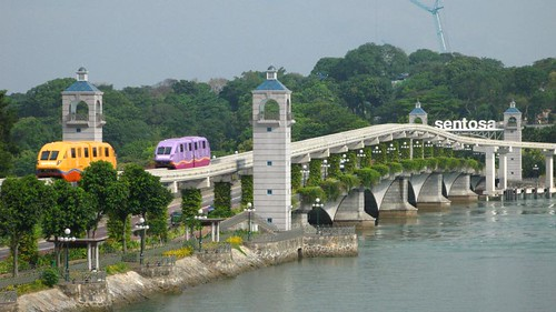 Sentosa Express from Vivo City
