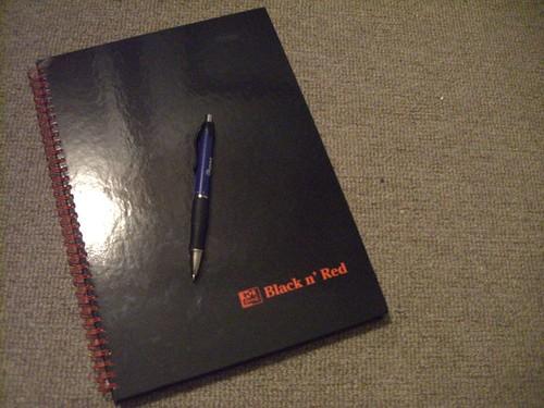 Black 'n Red notebook