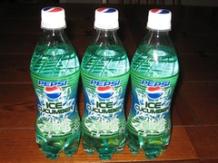 Pepsi Ice Cucumber ... only available in Japan. (07/16/2007)
