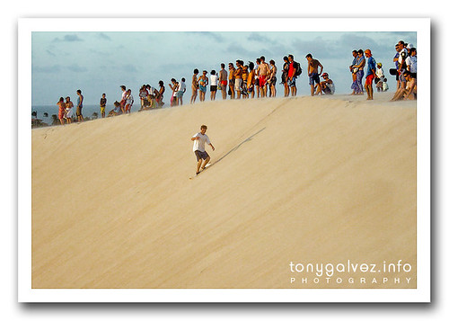 weekly shot: surfing the dunes