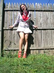 bonanza jellybean (Lorena Cupcake) Tags: urban feet fashion socks wardroberemix glasses costume clothing shoes dress girly dressup style skirt heels kicks accessories shoegazer fashionvictim kneehighsocks streetstyle lowerhalf brandwhore otks