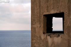 Depth (Renmarc) Tags: sea summer sky italy window canon ruins italia mare estate sicily capo zafferano capozafferano renmarc