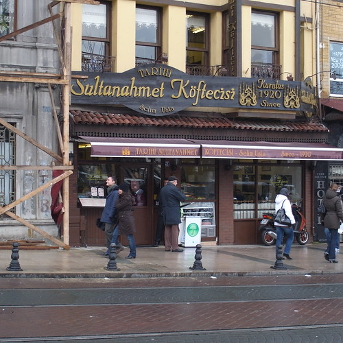 Tarihi Sultanahmet Koftecisi restaurant