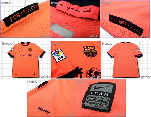 La nova samarreta del Barça 2009-2010