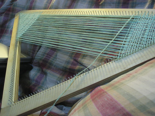 First triloom weaving