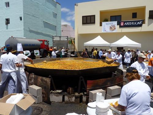 Gran Canaria - El Tablero de Maspalomas en Fiestas - La Paellada