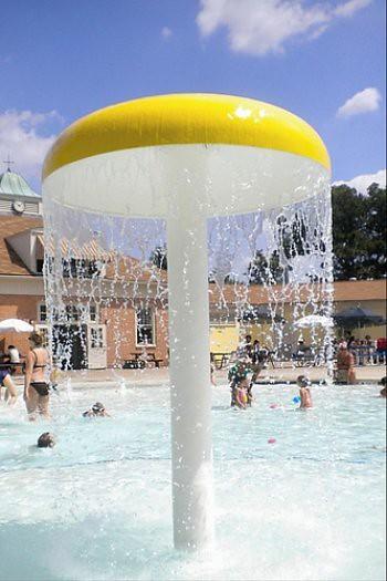 Cool Pool Mushroom