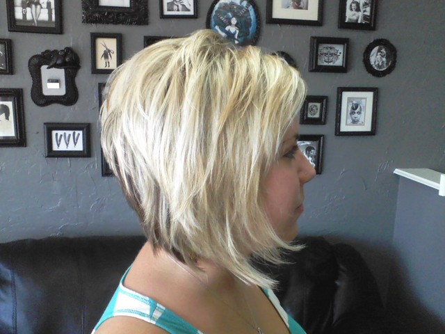 back views of stacked haircuts BRITTANY SIDE HAIR RAIZERS SALON