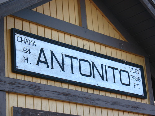 Antonito station, high altitude