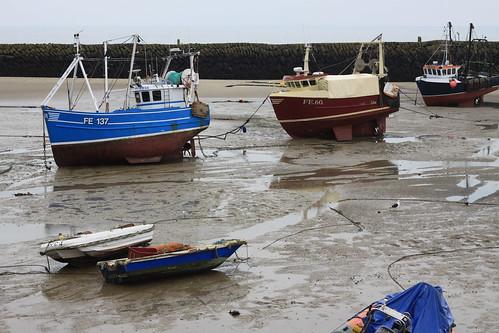 Low Tide Folkestone Harbour