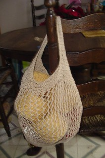 Knitted Shopping Bag Pattern : Ravelry: The String Bag pattern by Erin Vaughan