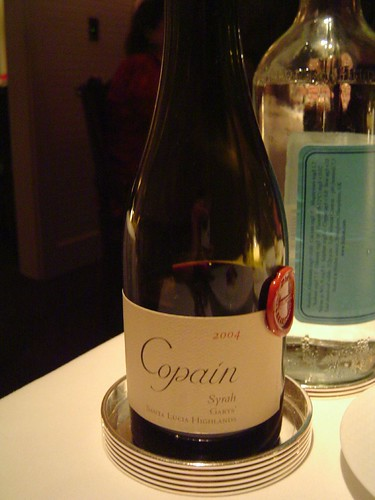 1/2 Bottle of Copain Syrah