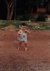 Marco Gomes bebê, no Gama