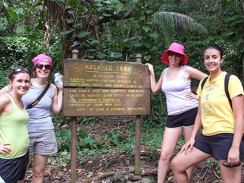 After the Na Pali coast hike