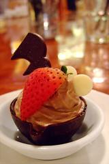 Chocolate mousse (plhu) Tags: food dessert chocolate vilage