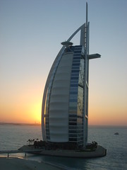 The Burj Al-Arab at dusk (Garp2007) Tags: dubai burj