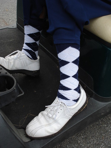the caddy's socks