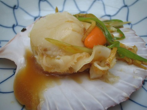 steamed scallop