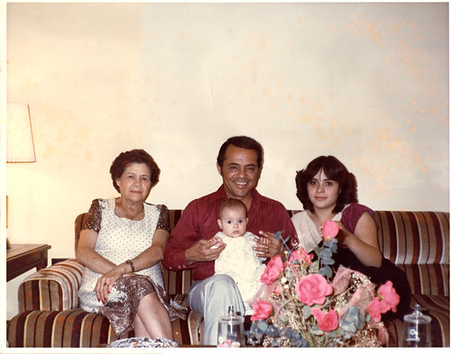 Four generations of Rincon del Angel