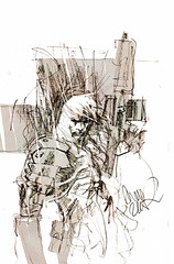 ashley wood - sketch edition metal gear comic