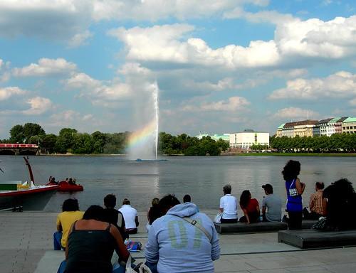 unbemerkte Regenbogen