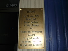 Broue plaque