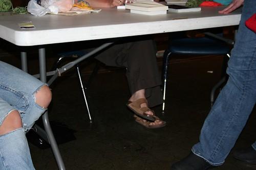 Kinnearing Her Feet