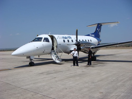 The Embraer 120 twin-motor aeroplane