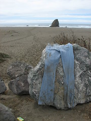 jeans along the california coast