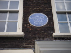 Photo of Charles Bridgeman blue plaque