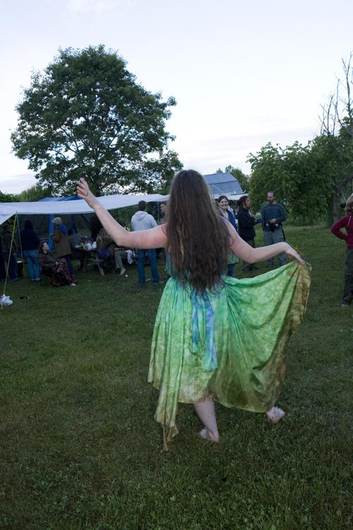 K dancing