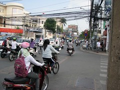Traffic in HCMC