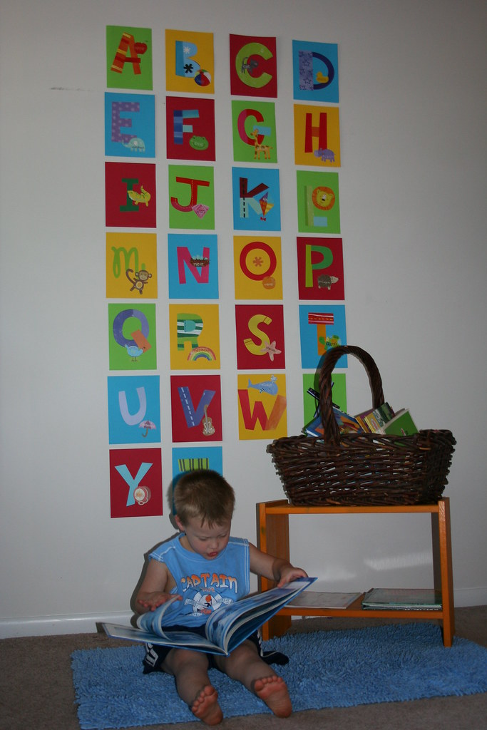 Alphabet Wall Stickers - Part 2