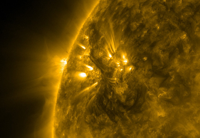 Sun's surface May 18, 2010