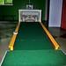 The 18th hole mini golf skill shot