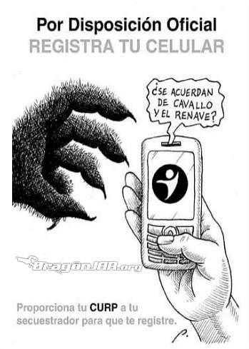 Ley Telefonos Celulares Mexico y Peru