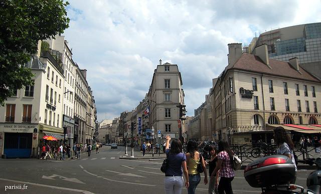 Rue du faubourg Saint Antoine et rue de Charenton