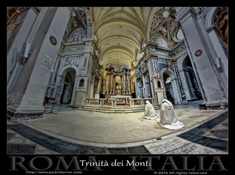 Roma - Trinità dei Monti - interior