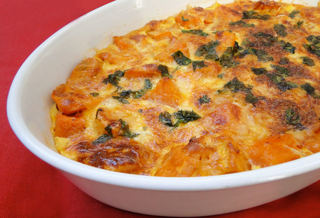 squash and sweet potato gratin 1 pound peeled butternut sweet potato ...