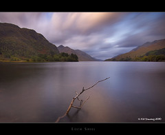 Loch Shiel - Glenfinnan (Kit Downey) Tags: autumn mountain color water clouds sunrise canon landscape eos rebel scotland october long exposure colours wide scottish tokina filter nd kit loch hdr glenfinnan realistic downey jacobite 550d t2i 1116mm