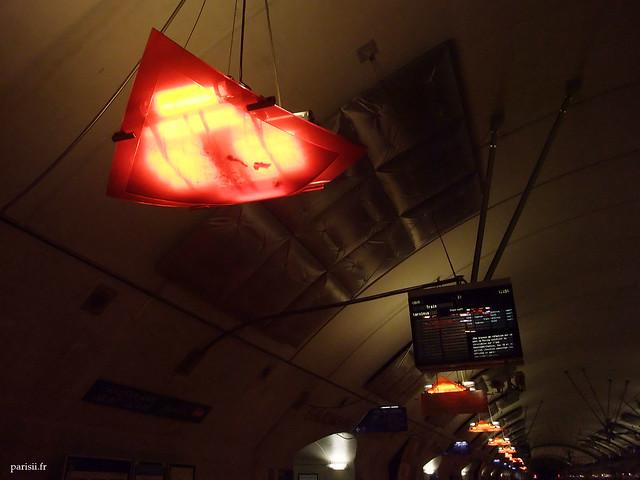 Luminaire de la Gare d'Haussmann - St Lazare